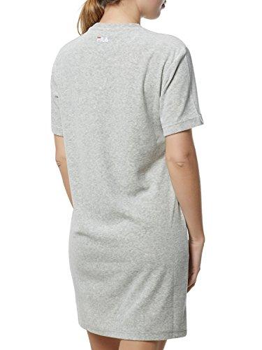 Fila Grey 2 Size Small Luna S Long � Dress 0 red xAwxH