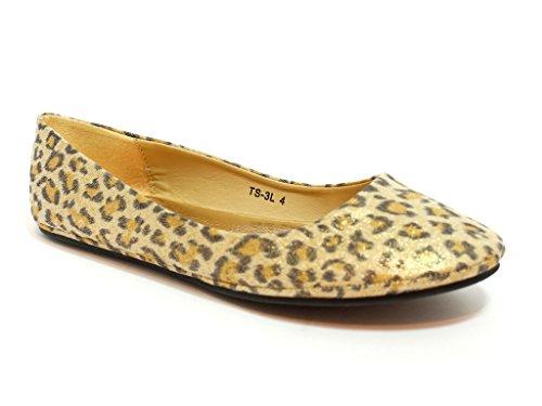Patent Cheetah mujer London Ballet Envy q8gUx