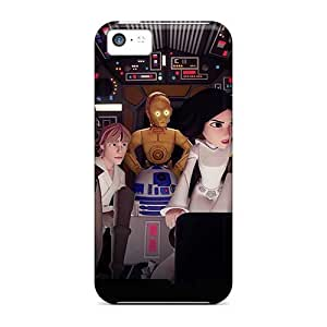 Iphone 5c Dam8910PGbi Unique Design High-definition Rise Against Series Protective Cell-phone Hard Cover -CharlesPoirier