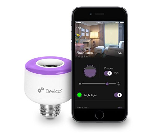 3 Pack iDevices Socket - WiFi Enabled Light Bulb Adapter, No Hub Required, Works with Apple HomeKit, Amazon Alexa and Android by iDevices (Image #1)