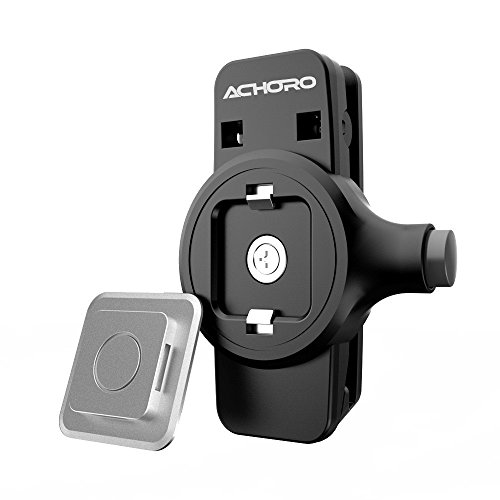 Smartphone Belt Clip. Waist Belt Holster Clip for iPhone, iPod, Smartphone, Samsung, Galaxy. Easy & Plug Premium Quality Waist Belt Clip Smartphone Holder. Working Mobile Phone Holster Belt Clip by Achoro