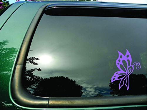 Butterfly Ribbon Lilac Testicular Cancer- Die Cut Vinyl Window Decal/sticker for Car or Truck 5