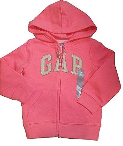 Gap Baby Toddler Girl's Hoodie Sweatshirt Jacket Pink 2Yrs 2t - Gap Girls Jacket