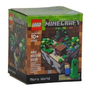 LEGO Minecraft, Micro World 21102 (Discontinued by manufacturer)
