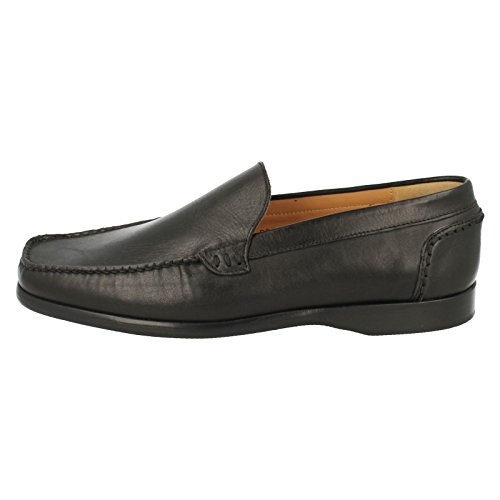 Slip F Cardiff Mens Style 9658 Black Fitting Grenson Moccasins On qUwXxx651