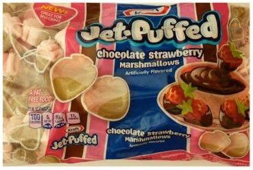 Jet Puffed Marshmallow (Jet-Puffed Chocolate Strawberry Marshmallows, 8 oz (Pack of 3))
