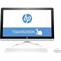 "HP All in One 24-g008ns - Ordenador Sobremesa Táctil Todo en Uno de 23.8"" FullHD (Intel Core i5-6200U, 6 GB RAM, 1 TB HDD, NVIDIA GT 920MX 2 GB, Windows 10); Blanco Nieve - Teclado QWERTY Español"