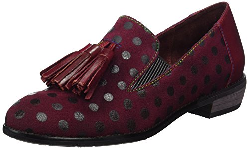 Laura Vita Damen Claudie 05 Slipper Rot (Wine)