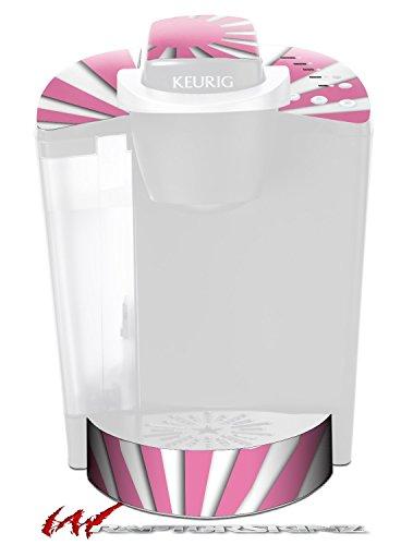 Rising Sun Japanese Pink - Decal Style Vinyl Skin fits Keurig K40 Elite Coffee Makers (KEURIG NOT INCLUDED) by WraptorSkinz
