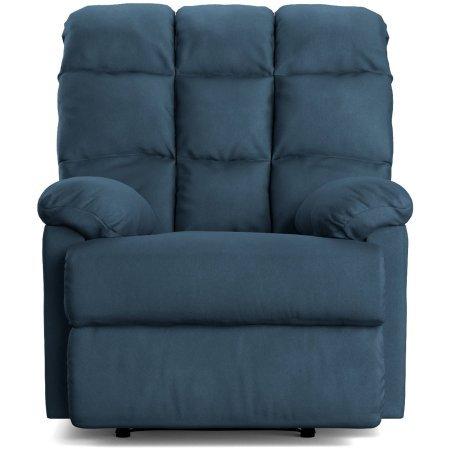 ProLounger Wall Hugger Microfiber Biscuit Back Recliner Chair   37.75