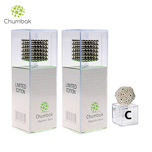- Chumbak 5mm Magnetic Balls Sculpture Limited Edition 216pcs for Intelligence Development and Stress Relief