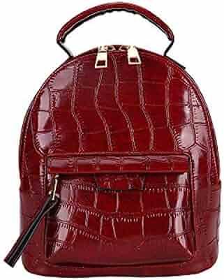 Color : Black Rose XFRJYKJ-Cartoon Backpack Trend Flower Backpack Student Campus Bag