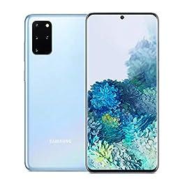 Samsung Galaxy S20+ Plus 6.7″ SM-G986B/DS 5G 128GB 12GB RAM (GSM Only, No CDMA) International Version – (Cloud Blue)