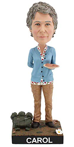 Royal Bobbles The Walking Dead Carol Collectible Bobblehead Figure -
