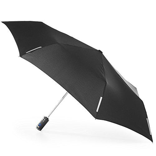 TRX AOC (Auto Open & Close) Light N' Go Traveler Umbrella by Totes with Built In LED Flashlight
