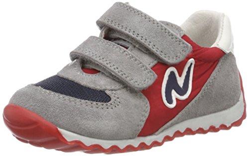 Naturino Deven, Zapatillas Para Niños Mehrfarbig (Piombo-Navy-Rosso)