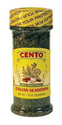 Cento - All Natural Italian Seasoning, (2)- 1.75 oz. Btls. (Cento Italian Tomatoes)