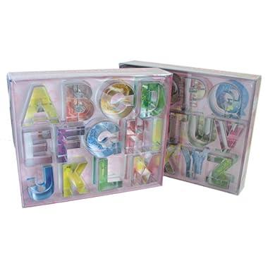 R & M Alphabet 26 Piece Cookie Cutter Set