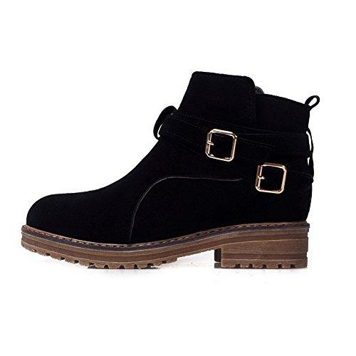 AdeeSu Para Negro mujer cerrados Zapatos rqxn16r
