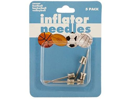 K&A Company Air Ball Inflator Needle Sports Pump Case of 24 by K&A Company