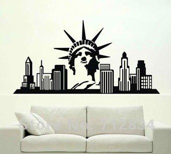 wall art stickers new york - 4