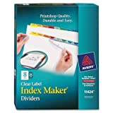 AVE11424 - Avery Index Maker Divider w/Multicolor Tabs