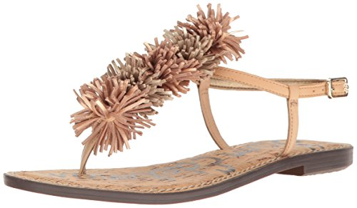 Sam Edelman Womens Gates Sandalo Natural Naked