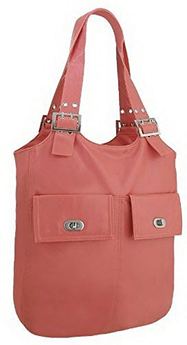 EyeCatchBags - Sac seau bucket Veronique Rose saumon