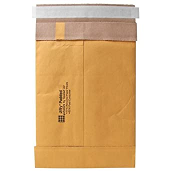 Quality Park Sealed Air Jiffy Padded Mailer, #6, Self Seal, 12.5 x 19 Inches, Pack of 50 (SEL86027)