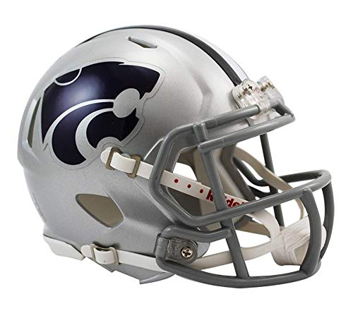 (NCAA Kansas State Wildcats Speed Mini Helmet)