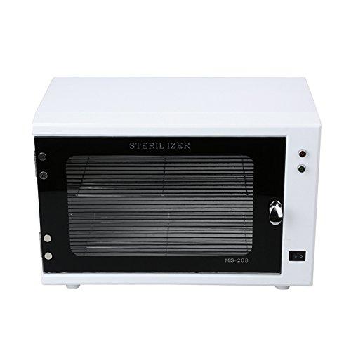 Anself 10W UV Sterilizer Cabinet Nail Towel Sterilizer Beauty Salon Tool 110V