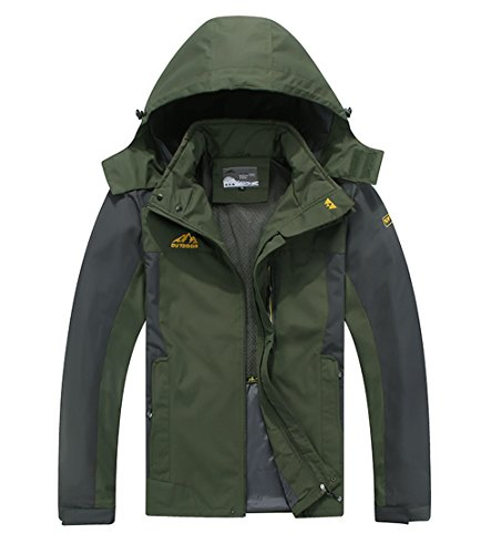 Hooded Sports Jacket - 1