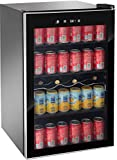 RCA wine cooler fridge beverage cooler (110 can or 36 bottles)