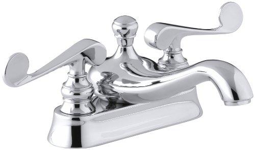 Kohler Centerset Bathroom Chrome Faucet Chrome Centerset