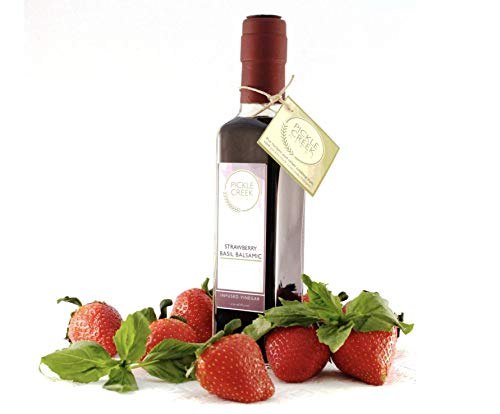 - Pickle Creek Herbs- Strawberry Basil Balsamic Infused Vinegar (250 ml)