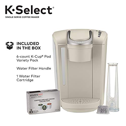 Keurig K-Select Single-Serve K-Cup Pod Coffee Maker, Sandstone by Keurig (Image #7)
