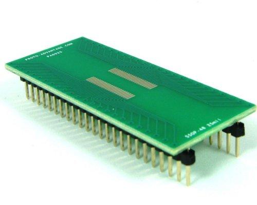 Proto-Advantage SSOP-48 to DIP-48 SMT Adapter (0.635 mm Pitch)
