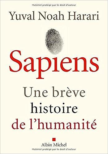Couverture livre Sapiens, Harari