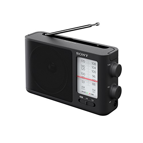 Sony ICF506 Analog Tuning Portable FM/AM Radio - ICF-506