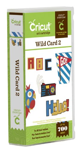 Cricut Wild Card 2 Cartridge ()