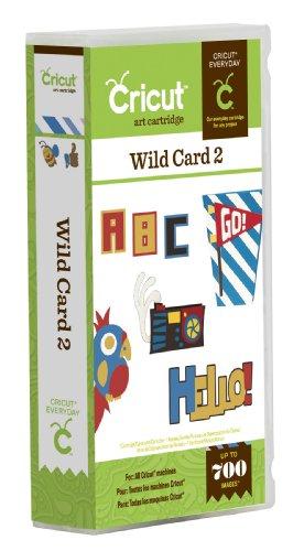 Cricut Wild Card 2 Cartridge (Cricut Wild Card)
