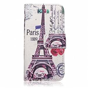 Beautiful Design PU Leather Flip Stand Case Cover For iPhone 5 5S --- Pattern:Iris