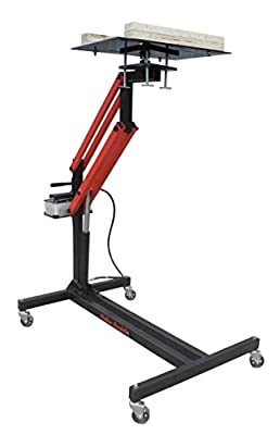 Redline RE-PTL Automotive Air Hydraulic Mobile Adjustable Powertrain Jack Lift