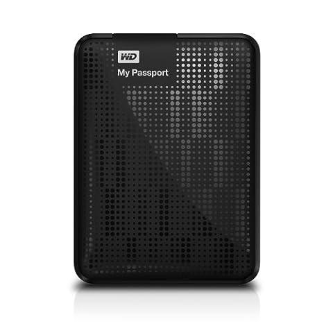 WD My Passport 1TB Portable External Hard Drive Storage USB 3.0 Black (Wd Ext Hdd)