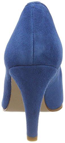 Scarpe Blu 38 Punta col Tacco Chiusa Blue Ibis Di Pinto Donna Blu wqaTTt