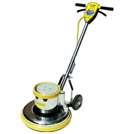 Mercury Floor Machine L19E 19 in. Floor Machine Loboy - Yellow by MERCURY FLOOR MACHINES