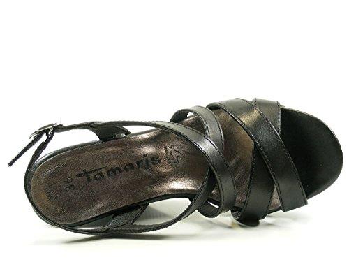 Tamaris 28343 Schwarz Sandali Donna 28 1 rrqwF0C