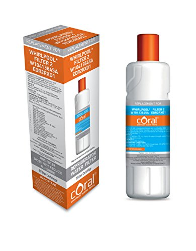 Coral Filter c3645a Whirlpool Filter 2 W10413645A EDR2RXD1 Kenmore Compatible Coral Water Filter (1)