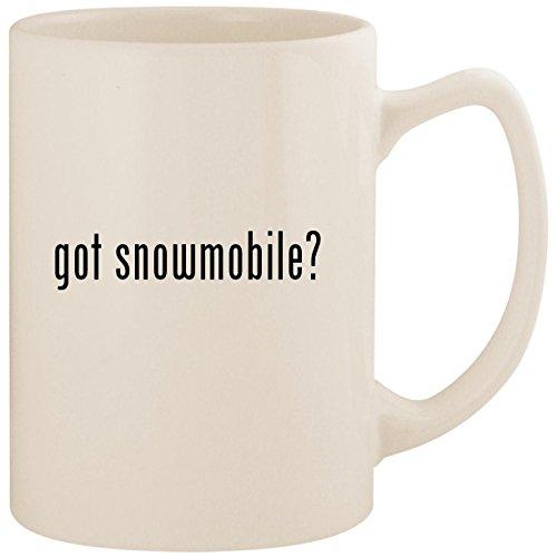 got snowmobile? - White 14oz Ceramic Statesman Coffee Mug Cup