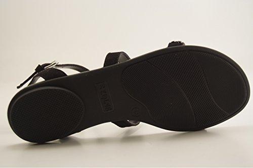 Sandale Reqins Eti Bracelet Noir Bloom zwgnWOz